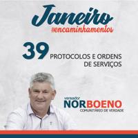 04/02/2019 - Vereador Nor Boeno protocola em torno de 40 pedidos junto à Prefeitura de Novo Hamburgo  e à Comusa