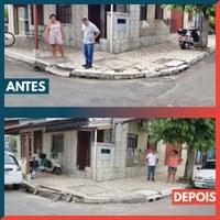 04/02/2020 - Pedidos do vereador Nor Boeno são atendidos no bairro Canudos