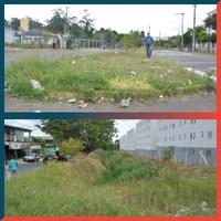 04/05/2020 - Nor Boeno requer capina re roçada em toda extensão da avenida Octávio Oscar Bender em Canudos