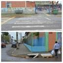 04/07/2018 - Vereador Nor Boeno solicita melhorias para o trânsito perto da escola Tancredo Neves
