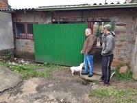 04/07/2019 - Nor Boeno solicita melhorias em rede de esgoto na rua Miguel Ângelo no bairro Canudos