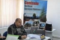 04/11/2019 - Fernando Lourenço solicita conserto de infiltração na rua Heron Domingues