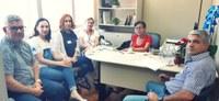 04/12/2019 - Vereador Nor Boeno participa de reunião com a vereadora Tita e com representantes da Apac