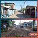 05/05/2020 - Vereador Nor Boeno tem demanda atendida na rua Electra em Canudos