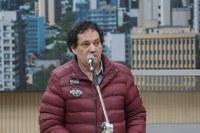 05/11/2019 - Vereador Inspetor Luz solicita substituição de lâmpada queimada na avenida Primeiro de Março com a a rua Três de Outubro