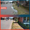 06/02/2019 - Vereador Nor Boeno tem pedido de desobstrução de rede de esgoto em trecho da rua Bruno Werner Storck em Canudos
