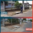 06/03/2020 - Vereador Nor Boeno tem pedido de substituição de tampa de bueiro atendido na Vila Iguaçu