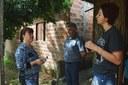 06/10/2017 - Gabinete: Vereador Nor Boeno e Diretoria de Habitação visitam residência às margens do Arroio Pampa