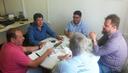 07/02/2018 - Vereador Enio Brizola participa de reunião para debater a Lei nº 2.573/2013