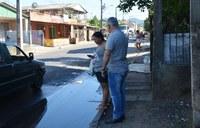 08/02/2019 - Vereador Nor Boeno solicita conserto de vazamento próximo ao Residencial Aeroclube em Canudos