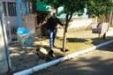 08/05/2019 - Vereador Nor Boeno solicita conserto de infiltração em passeio público no bairro Canudos