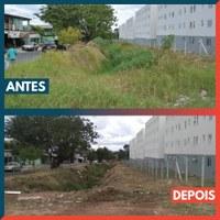 08/07/2020 - Vereador Nor Boeno tem pedido atendido no bairro Canudos