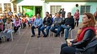 08/08/2018 - Serjão participa de atividade que ampliará escola no bairro Santo Afonso
