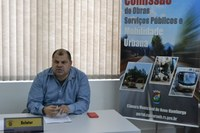 08/10/2019 - Fernando Lourenço solicita limpeza e hidrojateamento na rua Curitibanos