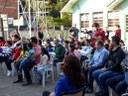 09/08/2018 - Cristiano Coller participa de inauguração de obras em escola no bairro Santo Afonso