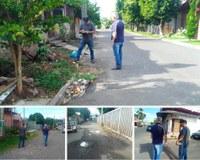 10/01/2019 - Vereador Nor Boeno encaminha demandas ao subsecretário de Obras de Canudos