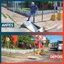 10/03/2020 - Vereador Nor Boeno tem demanda atendida na avenida Vitor Hugo Kunz