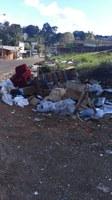 10/07/2020 - Vereador Fernando Lourenço solicita recolhimento de lixos diversos na rua Johann Friedrich Pechmann