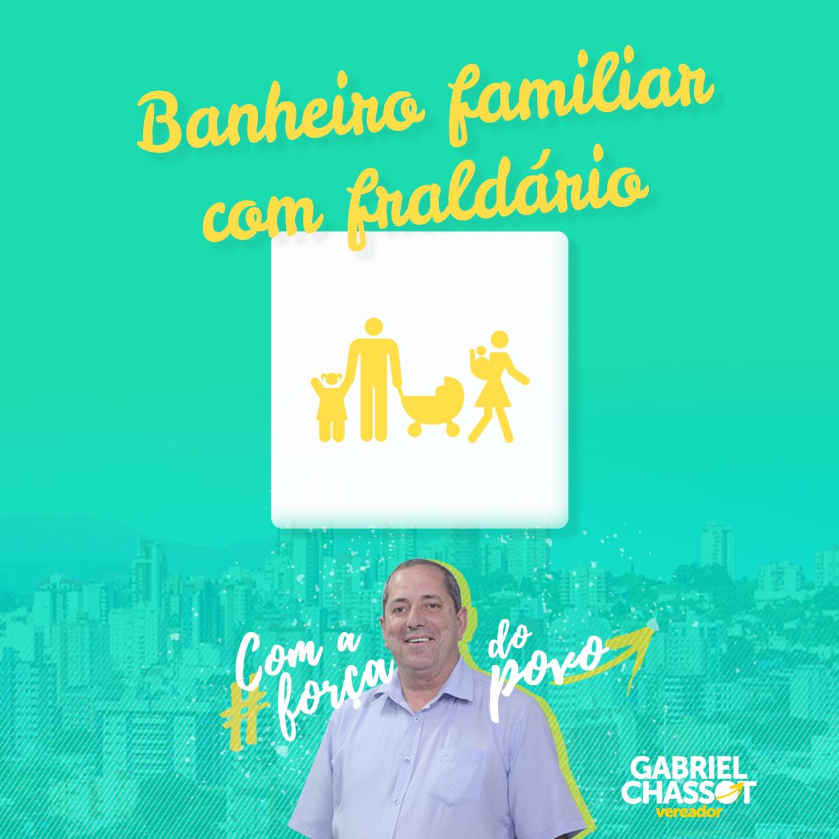 10/10/2018 – Vereador Gabriel Chassot apresenta projeto para banheiro familiar