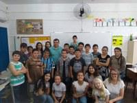 10/10/2018 - Vereador Vladi Lourenço palestra na Escola Estadual Leopoldo Petry