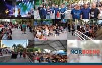 10/12/2019 - Vereador Nor Boeno participa de evento que marca o início da Semana da Bíblia