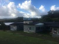 11/07/2018 - Professor Issur visita comunidade terapêutica em Lomba Grande