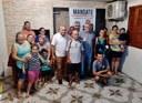 12/02/2020 -  Nor Boeno realiza Mandato Comunitário no bairro Santo Afonso a fim de escutar a comunidade