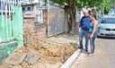 12/03/2019 - Vereador Nor Boeno conversa com moradores e encaminha problema relacionado à rede de esgoto no bairro São José