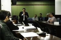 12/09/2017 - Gabinete: Enio Brizola representa a Câmara em audiência pública sobre a prestação de contas da EGR