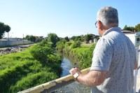 13/02/2019 - Vereador Nor Boeno encaminha pedido de  limpeza e desassoreamento do Arroio Pampa