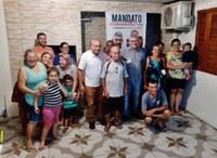 13/02/2020 - Nor Boeno realiza Mandato Comunitário no bairro Santo Afonso