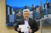 13/06/2017 - Gabinete: Vereador Nor Boeno utiliza a tribuna para reforçar suas demandas