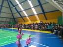 13/08/2018 - Cristiano Coller participa da inauguração do ginásio de esportes da Escola Arnaldo Grin