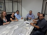13/11/2017 - Gabinete: Vereador Enio Brizola participa de reunião com secretário de Segurança