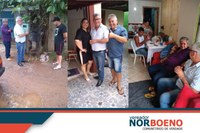 14/02/2020 - Vereador Nor Boeno realiza visitas e recebe demandas da comunidade no fim de semana