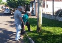 15/04/2019 - Vereador Nor Boeno visita morador de Canudos e protocola pedidos junto à Prefeitura e à RGE