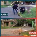 15/06/2020 - Vereador Nor Boeno tem pedido de conserto de infiltração atendido em Canudos