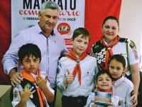 15/08/2017 - Gabinete: Nor Boeno recebe visita especial do Grupo de Aventureiros da Igreja Adventista do Sétimo Dia da Vila Santo Antônio