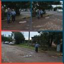 15/08/2019 - Vereador Nor Boeno visita rua Kiel em Canudos e pede melhorias da pavimentação