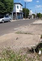 16/01/2020 - Gabinete do vereador Nor Boeno protocola pedido de conserto de boca de lobo na rua Curitibanos