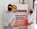 16/04/2021 - Presidente Raizer faz visita ao CAUDEQ