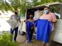 16/04/2021 - Raizer participa de entrega de doações do grupo Cáritas ao Hospital Municipal
