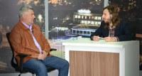 16/08/2017 - Gabinete: Vereador Nor Boeno participa do programa Conexão Política da Vale TV