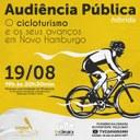 16/08/2021 - Audiência pública debate o cicloturismo e seus avanços em Novo Hamburgo