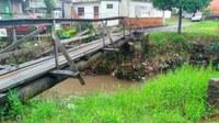 17/10/2017 - Gabinete: Nor Boeno reforça pedido de melhorias em passarela sobre o Arroio Pampa