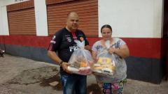 17/12/2018 - Fernando Lourenço entrega doações arrecadadas no aniversário do Atlético Clube Veterano