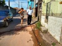 18/02/2020 - Vereador Nor Boeno requer conserto de vazamento na rua José Aloísio Daudt
