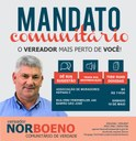 18/05/2018 - Vereador Nor Boeno realiza Mandato Comunitário no bairro São José