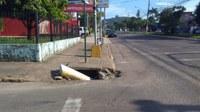 18/06/2019 - Nor Boeno solicita conserto de boca de lobo na rua General Vargas