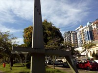 18/06/2020 - Raul Cassel pede identificação de monumento na Praça da Bandeira